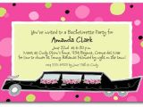 Limo Birthday Party Invitations Limo Party Invitation Sweet Sixteen Party Invitations