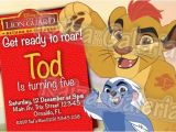 Lion Guard Birthday Party Invitations Items Similar to the Lion Guard Birthday Invitation We
