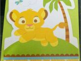 Lion King Baby Shower Invitations Party City 17 Best Images About Lion King Baby Shoer On Pinterest