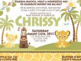 Lion King Baby Shower Invitations Party City Lion King Baby Shower Invitations Baby