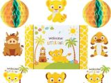 Lion King Baby Shower Invitations Party City Lion King Baby Shower Room Decorating Kit 10pc