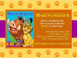 Lion King Birthday Party Invitations Lion King Birthday Invitation Simba by Unmatchedeventdesign