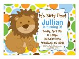"""Lion King Birthday Party Invitations Little King Lion Birthday Party Invitation 5"""" X 7"""