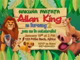 Lion King Party Invitation Template 5r Lion King Birthday Invitation Dioskouri Designs