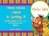 Lion King Party Invitation Template Lion King Birthday Invitation