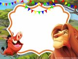 Lion King Party Invitation Template Simba Lion King Invitation Template Perfect for Parties