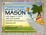 Lion King themed Baby Shower Invitations Printable Lion King Baby Shower Invitations