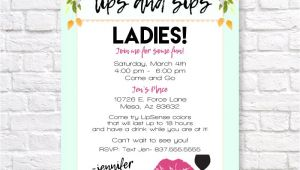 Lipsense Launch Party Invite Lipsense Invitation Lipsense Launch Party Invite Lips