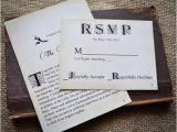 Literary themed Wedding Invitations Novel Idea Literary Wedding Invitation Set Print