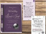 Literary themed Wedding Invitations the Literary Wedding Book and Library by thefrogandthepeach