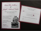 Literary themed Wedding Invitations Wedding Invitation New Literary themed Wedding Invitatio