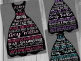 Little Black Dress Bridal Shower Invitations Bachelorette Invitation Bachelorette Party Invitation