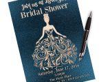 Little Black Dress Bridal Shower Invitations Bridal Shower Little Black Dress Bridal Shower Invitation