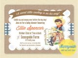Little Buckaroo Baby Shower Invitations Cowboy Baby Shower Invitation Printable Invite Little