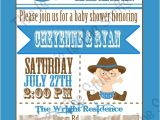 Little Buckaroo Baby Shower Invitations Items Similar to Cowboy or Little Buckaroo Baby Shower