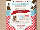 Little Buckaroo Baby Shower Invitations Unavailable Listing On Etsy