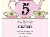 Little Girl Tea Party Invitation Ideas 27 Best Tea Party Invitations Images On Pinterest Tea