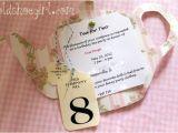 Little Girl Tea Party Invitation Ideas Printable Vintage Tea Party Invitations Little Girls