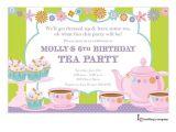 Little Girl Tea Party Invitation Ideas Tea N Sweets Little Girl Tea Party Invitation Children