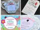 Little Girl Tea Party Invitation Ideas Tea Party Ideas for Little Girls Birthday In A Box