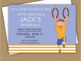 Little Gym Party Invitations 1000 Images About Gymnastics themed Birthday Party On