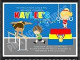 Little Gym Party Invitations 38 Best Gymnastics Images On Pinterest