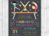 Little Gym Party Invitations Little Tumblers Birthday Invitation Tumblers Invite Gym