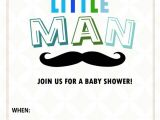 Little Man Baby Shower Invitation Templates Free All Cute Free Baby Shower Invitations to Print