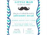 Little Man Baby Shower Invitation Templates Free Little Man Baby Shower Invitation Templates Loadpictures