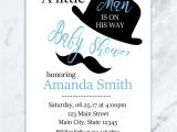 Little Man Baby Shower Invitation Templates Free Mustache Baby Shower Invitations Oxyline D0f9134fbe37