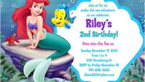 Little Mermaid Birthday Invitation Template Free Pin by Angel Rosez On Products I Love In 2019 Little