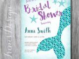 Little Mermaid Bridal Shower Invitations 25 Best Ideas About Mermaid Bridal Showers On Pinterest