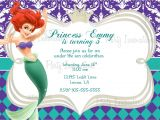 Little Mermaid Party Invitations Templates 40th Birthday Ideas Mermaid Birthday Invitation Templates