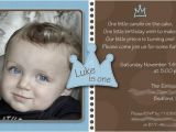 Little Prince 1st Birthday Invitations Baby Boy 1st Birthday Invitation Little Prince