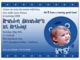 Little Prince First Birthday Invitation 1st Birthday Little Lion Prince Photo Invitations Paperstyle
