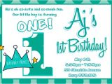 Little Prince First Birthday Party Invitations Lil Prince 1st Birthday Invitation Little Prince Crown 1st