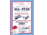Little Slugger Baby Shower Invitations Lil Slugger Baby Shower Invitation by Vpartyboutique On Etsy