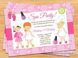 Little Spa Party Invitations Little Girls Spa Birthday Party Ideas Spa Party Kids