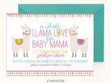 Llama Baby Shower Invitations Llama Baby Shower Invitation Llama Invitation Digital