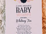 Long Distance Baby Shower Invitation Wording Long Distance Baby Shower Invitation Wording – Gangcraft