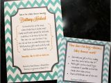 Long Distance Baby Shower Invitation Wording Long Distance Baby Shower Invitations