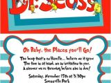 Lorax Baby Shower Invitations Dr Seuss All Characters Hortons Cat In Hat Lorax Thing 1