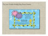 Lorax Baby Shower Invitations Unavailable Listing On Etsy