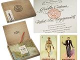 Loteria Wedding Invitations Letter Pressing and Loteria Cards In Cedar Boxes Make for