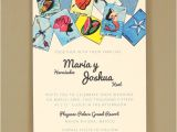 Loteria Wedding Invitations Loteria Wedding Invitation Multiculturally Wed