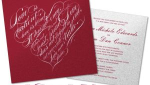 Love is Patient Love is Kind Wedding Invitations Love is Patient Love is Kind Wedding Invitations