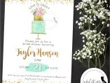 Love is Sweet Bridal Shower Invitation Wording Love is Sweet Bridal Shower Invitation Wedding Cake by