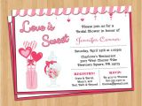 Love is Sweet Bridal Shower Invitation Wording Love is Sweet Invitation Bridal or Baby Shower by Lifeplustwo