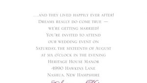 Love Marriage Wedding Invitation Wording Fairy Tale Wedding Invitation Wording Invitations by Dawn