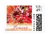 Love Stamps for Wedding Invitations Colorful forever Love Wedding Invitation Stamps Zazzle
